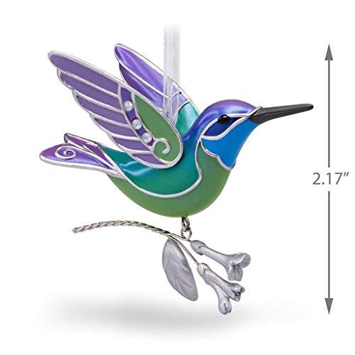 Hallmark Keepsake Ornament Jewel Toned Mystery Hummingbird 2018