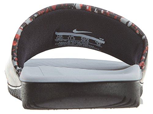 bright Slide Crimson wolf Grey Black Kawa Nike Big Kids wSfxBaPq