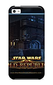 Tpu Fashionable Design Star Wars The Old Republic Hd Rugged Case Cover For Iphone 5c New
