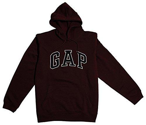 (GAP Men's Original Pullover Hoodie (Medium, Burgundy))