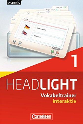 English G Headlight - Allgemeine Ausgabe / Band 1: 5. Schuljahr - Vokabeltrainer interaktiv: CD-ROM