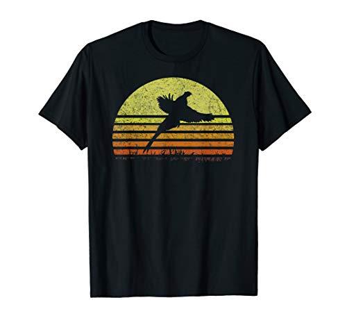 Pheasant Hunting South Dakota Upland Bird Game Hunter Retro T-Shirt