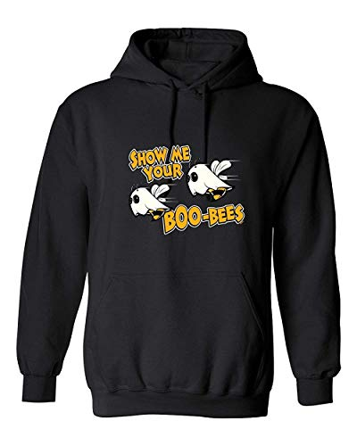 Show Me Your Boo Bees Costume Sarcastic Adult Funny Halloween T Shirt ()