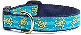 product image for Up Country Sea Turtle Pattern Dog Collars and Leashes (Sea Turtle Dog Collar, Small (9 to 15 Inches) 5/8 Inch Narrow Width)