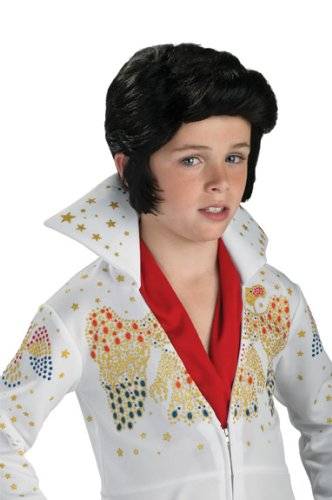 Rubies Elvis Presley Child Wig (Elvis Costume For Kids)