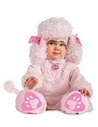 Rubies Costume Cuddly Jungle Pink Poodles of Fun Romper Costume, Pink
