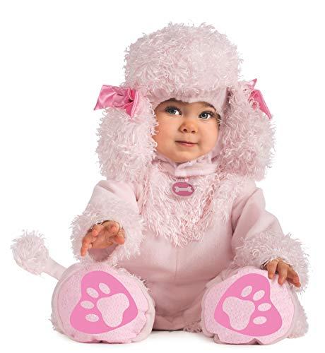 Rubie's Cuddly Jungle Pink Poodles Of Fun Romper Costume, Pink, 6-12 -