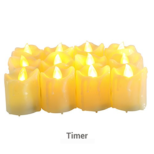 votive candles on timers - 2