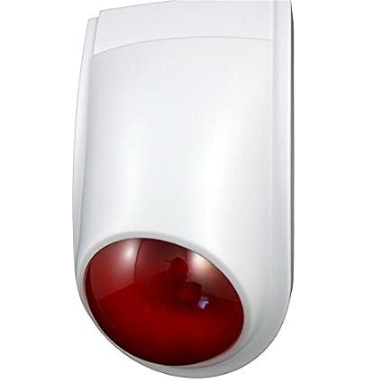 EQT de Tec Alarma Falsa/Dummy sirena exterior con LED ...