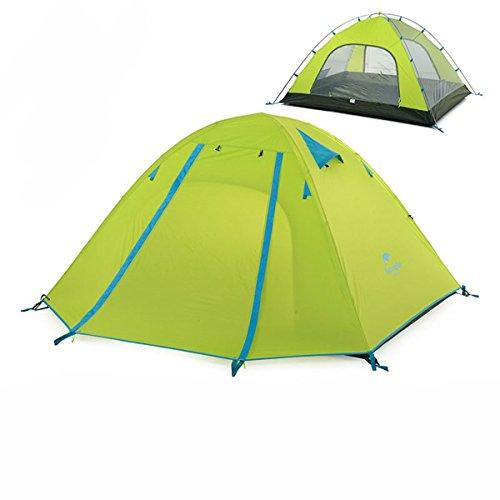 一晩パワー自慢Azarxis テント キャンプテント ツーリングテント アウトドア 登山 山岳 前室 二層構造 軽量 2-3-4人用 ドーム型 3シーズンに適用