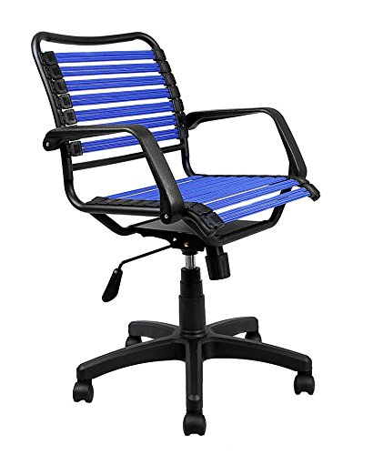 Laura Davidson Bungee Task Chair (Blue) (Bungee Arms)
