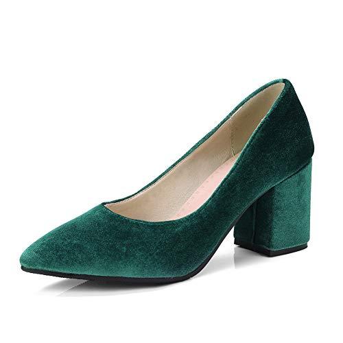 MMS06219 Green Sandali Donna 1TO9 Verde 35 Zeppa con SdaxTw