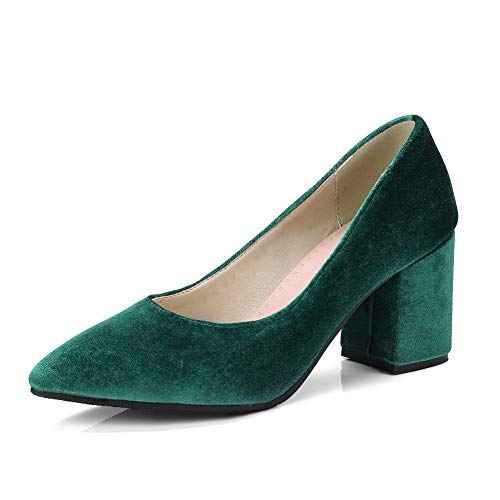 Femme 1TO9 Inconnu 5 MMS06219 Green 36 Compensées Vert Sandales PR11Uxqnw