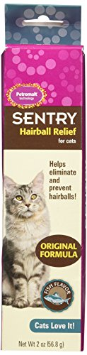 (Sentry HairBall Relife Petrodex Petromalt Fish Flavored, 2.0-Ounce)