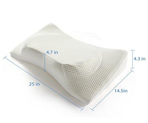 Jiaao Contour Memory Foam Pillow Orthopedic Pillows For