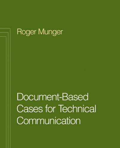 Document Based Cases for Technical Communication