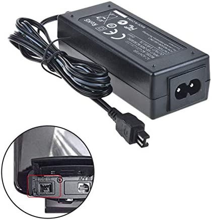 AC Power Adapter Charger for Sony HDR-PJ320 HDR-PJ340 HDR-PJ380 Handycam Camcorder