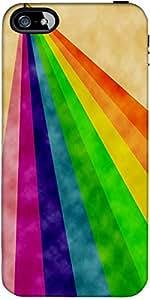 Snoogg Rainbow Poder 2377 Diseñador De Protección De Nuevo Caso Para El Iphon...