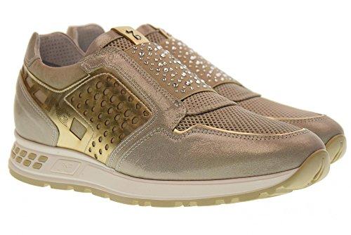 Donna Scarpe Giardini Basse Nero 505 Sneakers P805231D Savana 6E4HO1qx