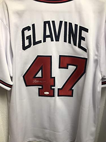 (Tom Glavine Autographed Signed Jersey Braves JSA Coa Authentic Autographed Signed)