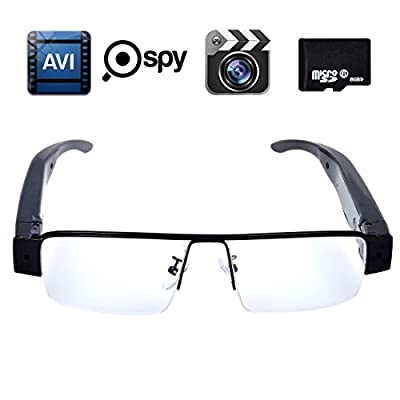SpyGear-Corprit HD 720P Spy Glasses Camera DVR, Web Cam and Video Recorder with Free 8GB SD Card - Corprit