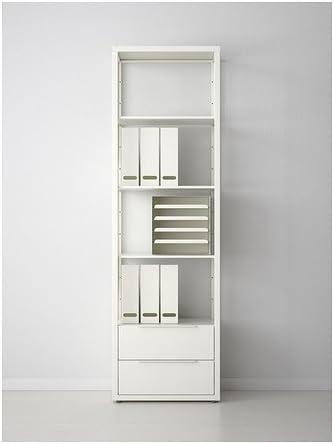 IKEA Fjälkinge - Estantería con cajones, blanco - 58x193 cm ...
