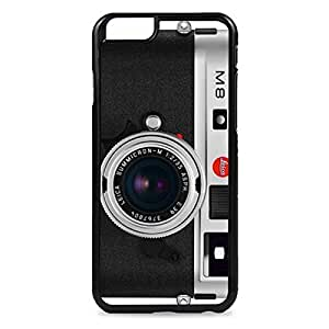 Case Fun Case Fun M8 Black Camera Snap-on Hard Back Case Cover for Apple iPhone 6 4.7 inch