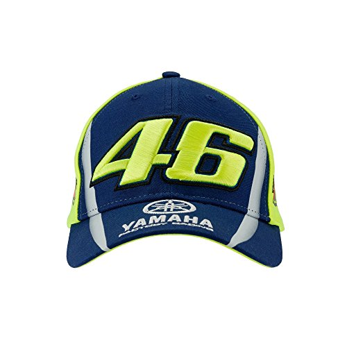 Valentino Rossi VR46 MotoGP M1 Yamaha Factory Racing Team Kids Cap Official 2018