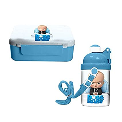 8c074cf73cb Buy Giftix Personalized Boss Baby Print Water Bottle & Tiffin Box for Kids  (Combo) Online at Low Prices in India - Amazon.in