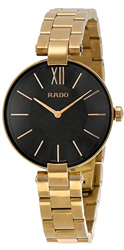 Price comparison product image Rado Girl's 'Classic' Quartz Stainless Steel Casual Watch,  Color:Gold-Toned (Model: R22851163)