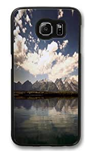Cloudy Water PC Case Cover for Samsung S6 and Samsung Galaxy S6 Black