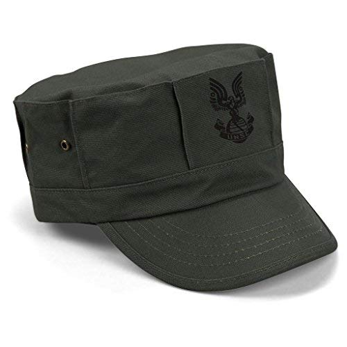 Loot Crate SGT. Johnson Replica UNSC Military Hat - Halo Legendary Green -