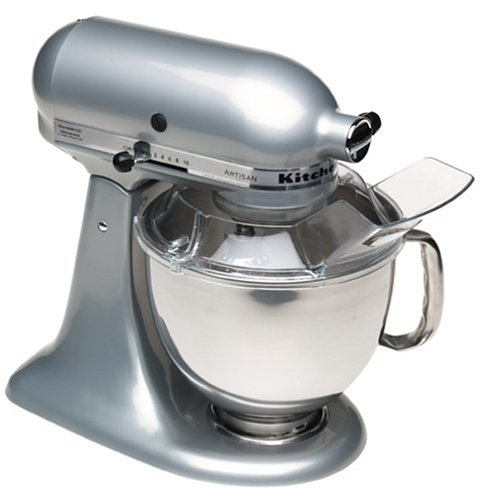 KitchenAid RRK150MC 5 Qt. Artisan Series - Metallic Chrome (Certified Refurbished) - smallkitchenideas.us