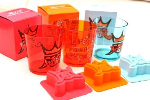 Arafesu 2013 Goods cup ice tray & C (Blue) storm Fes (japan import)