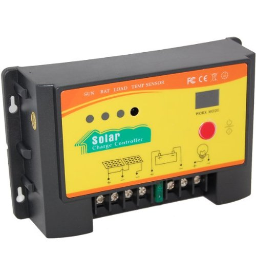 Amazon Com Hqrp 20a Solar Panel Battery Charge Controller