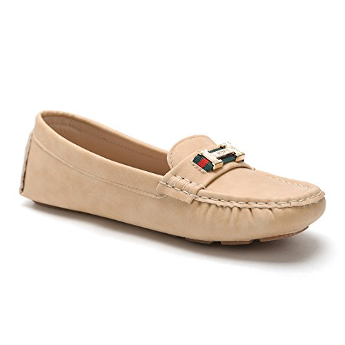 on Tan Comfort Driving Slip Hawkwell Shoes 2 Loafer Women's wp6vx1qR