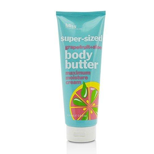 Shea Butter Mega Moisture - Bliss Grapefruit + Aloe Body Butter Maximum Moisture Cream (Super-Sized) 414ml/14oz