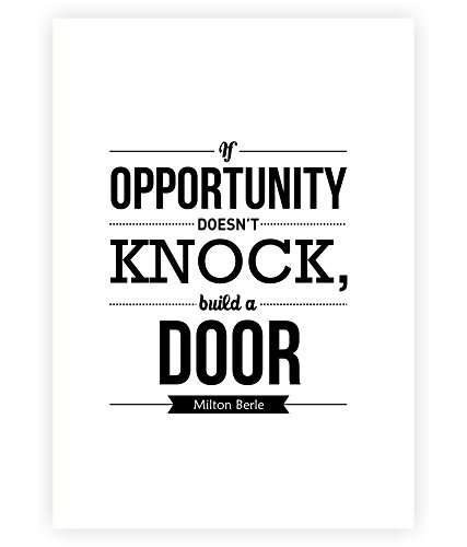 Amazoncom Lab No 4 If Opportunity Doesnt Knock Build A Door