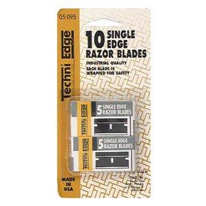 Price comparison product image Techni Edge 05-095 Single Edge Blades 10 Pack