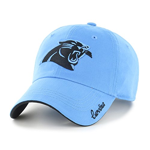 (NFL Carolina Panthers Women's Accolade OTS Challenger Adjustable Hat, Team Color, Women's)
