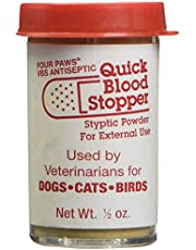 Four Paws Quick Blood Stopper Powder, 0.5 Ounce Container