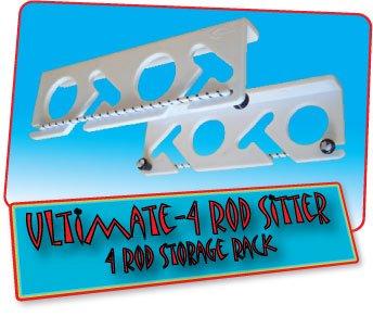 Ultimate 4 Rod Sitter – 4 Rod Fishing Rod Storage Rack