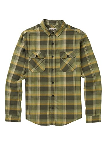 Burton Brighton Flannel Shirt, Forest Night Stella Plaid, XX