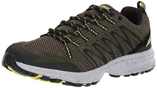 Avia Men's Avi-Terrain II Sneaker, Grape Leaf/Black/Sulpher Springs, 11.5 Medium US