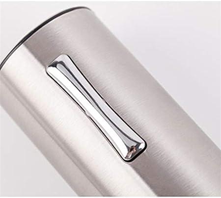 N/C Abrebotellas eléctrico para Vino, Cortador de Papel de Aluminio Desmontable, Acero Inoxidable Premium 304, Polipropileno de Grado alimenticio, Hermoso y Duradero, Recargable