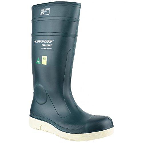 Dunlop Purofort E262673 Comfort Grip Full Unisex Gummistiefel/Sicherheitsgummistiefel Blau