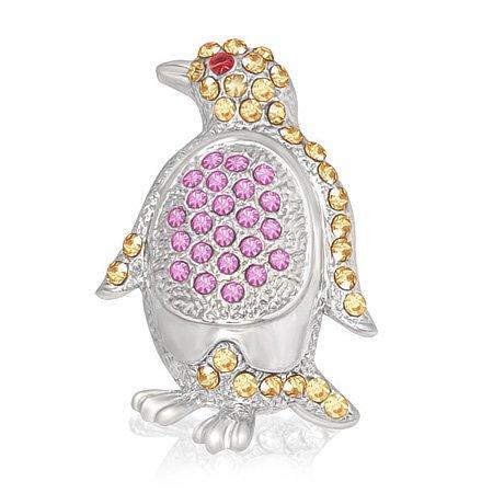 Fashion Alloy Penguin Silver-T