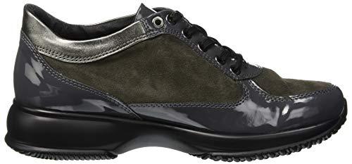 A Collo Donna 2 5232196 Alto Sneaker Grigio grigio Bata vwxFTSzE