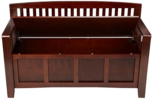 Best Linon Home Dcor 83985WAL-01-KD-U Linon Home Decor