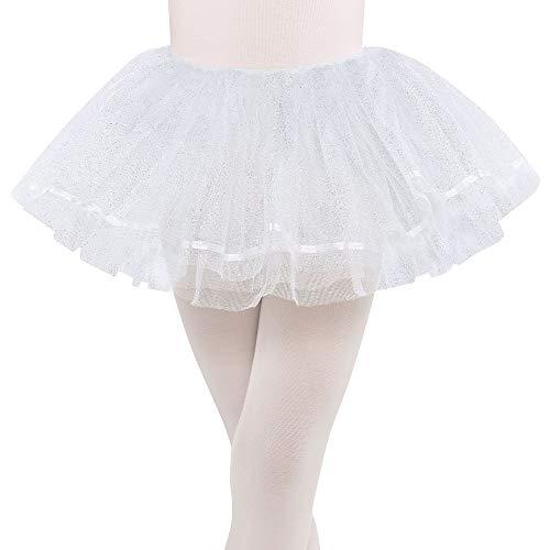 amscan White Shimmer Tutu - Child -